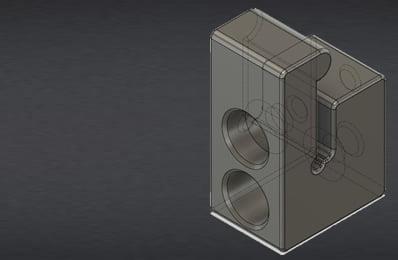 3D printed homeparts